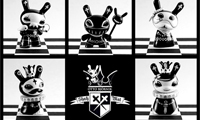 Dunny & Totem Doppleganger Chess Set