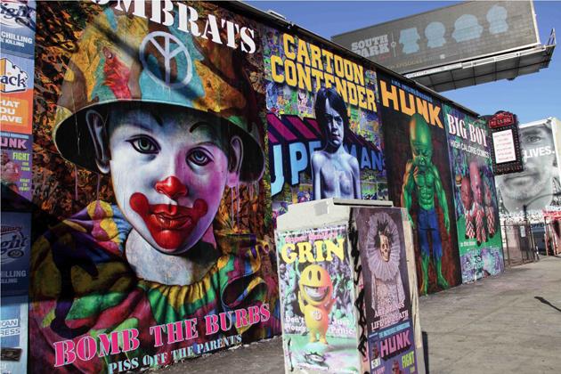 mural melorse la combrat close up