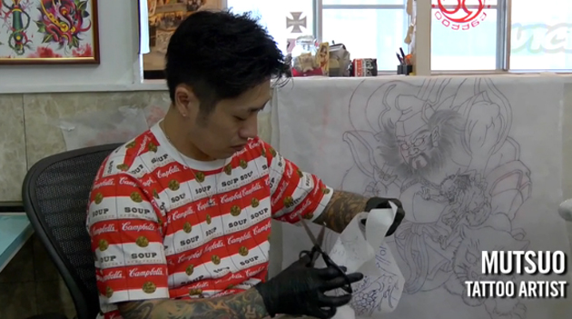 mutsuo tattoo artist