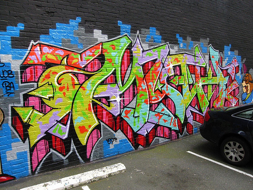 Myth Graffiti Wall