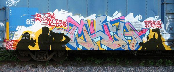 Myth Freight Graffiti Photographers