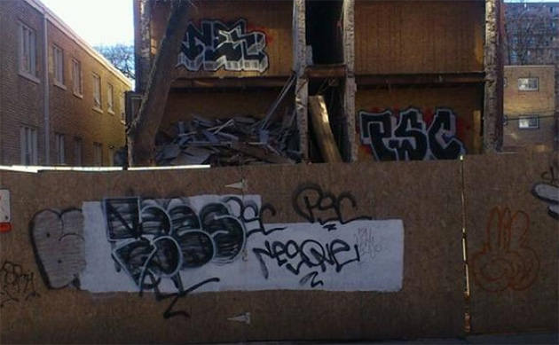 nes graffiti hargrave street