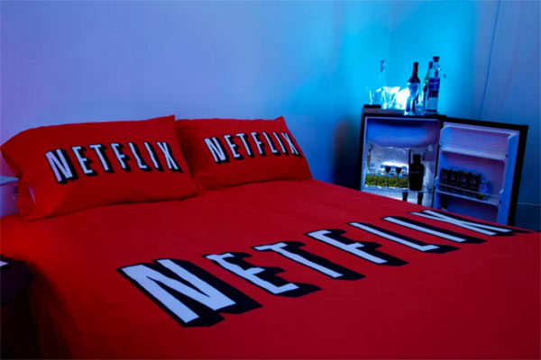 netflix and chill bar