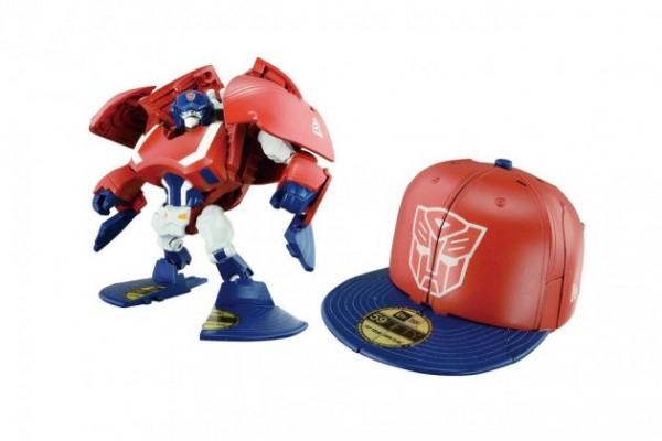 new era transformers hats