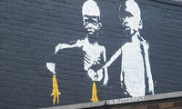 New Bansky Mural in London