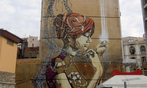 Faith47 & DAL Mural in Greece