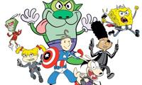 Nickelodeon Avengers Illustrations