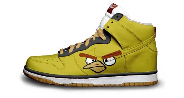 nike shoe design angry birds