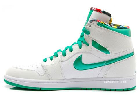 The Air Jordan I (1) Emerald Green