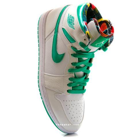 New Nike Air Jordan I (1) Emerald Green