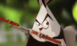 Ninja Easter Bunny