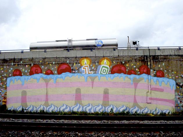 nme roller graffiti montreal