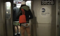 No Pants Subway Ride 2010