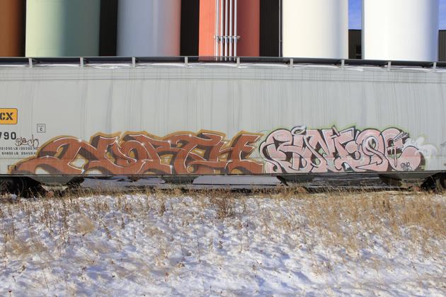 north bingoe graffiti