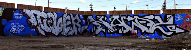 noway tower graffiti calgary