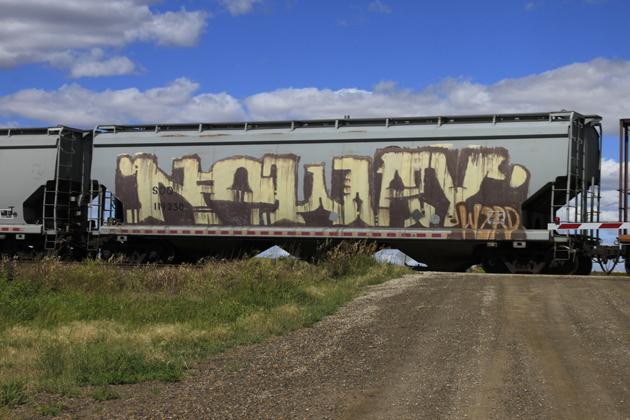noway wholecar graffiti