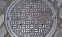 Texting Teen Falls Down Open Manhole