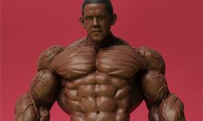 Barack Obama as the Hulk