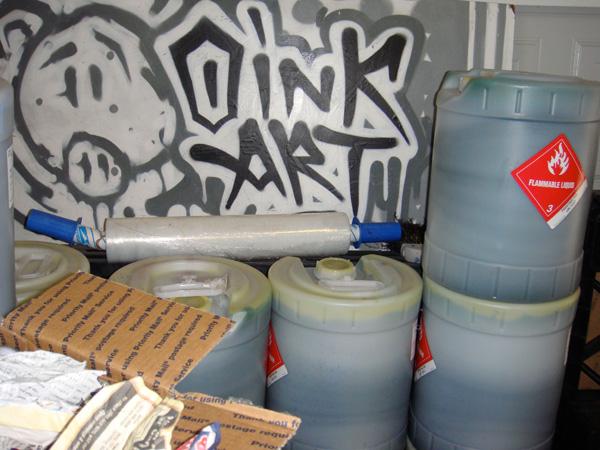oink art ltd ink