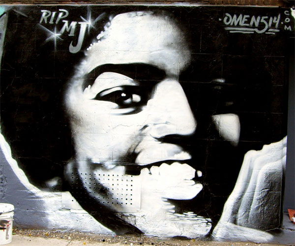 Omen Michael Jackson Graffiti Tribute