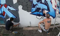 One Wall Free Graffiti Jam Video