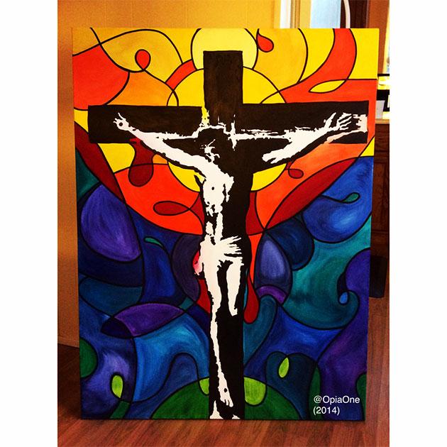 opia jesus painting