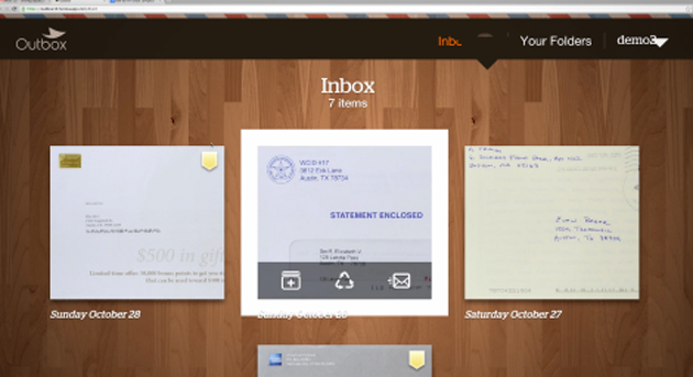 outbox digital mail