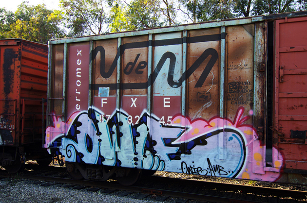 owie boxcar graffiti