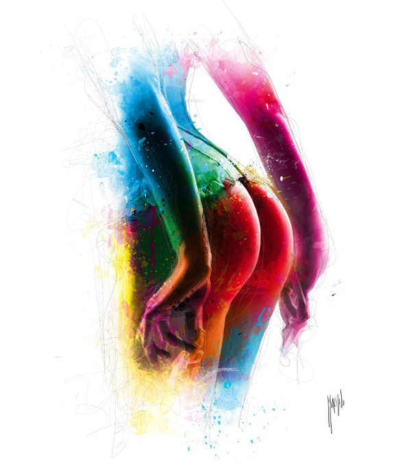 patrice murciano female painting