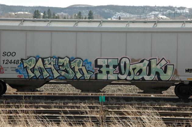 payer hbak graffiti hopper freight