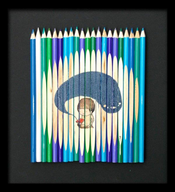 pencil art Ghostpatrol