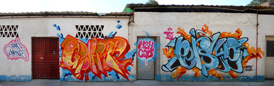 Rime Persue Graffiti