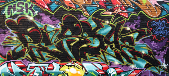 Persue Graffiti