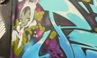 Persue Graffiti in Mexico