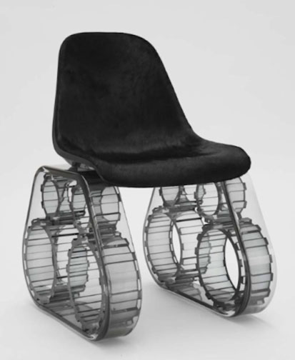 Pharrell Williams Tank Chair Design Senses Lost