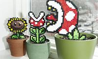 Pixel Plants by SandryMeow