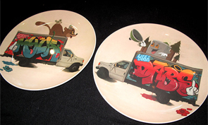 Dabs & Myla Custom Plates