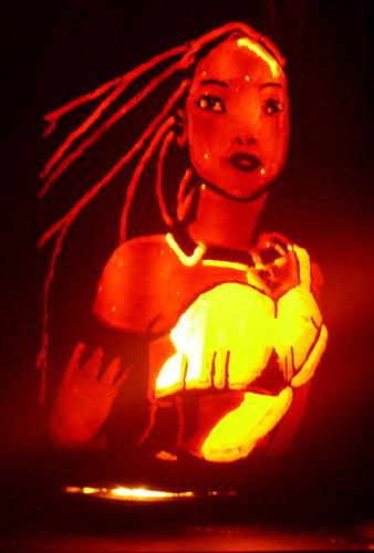 pokahantus pumpkin