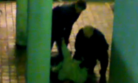 Police Brutality on Graffiti Writer