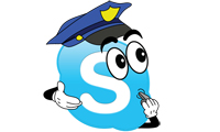 Police Can Read Your Skype Chats
