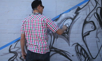 Pose &amp; Witnes Graffiti Video