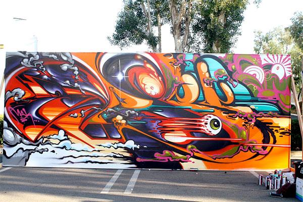pose graffiti lrg