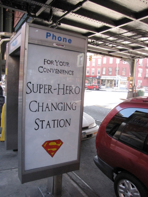 posterchild super hero change station