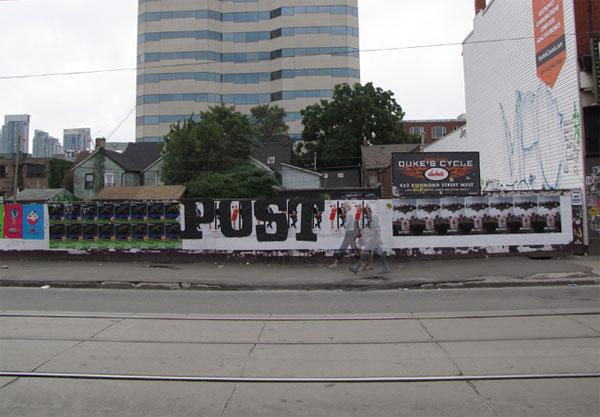 Posterchild Street Art Toronto