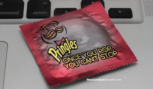 pringles condom