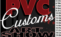 PVC Custom Art Show