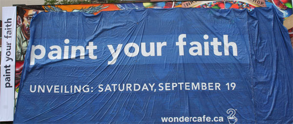 Paint Your Faith Mural Toronto
