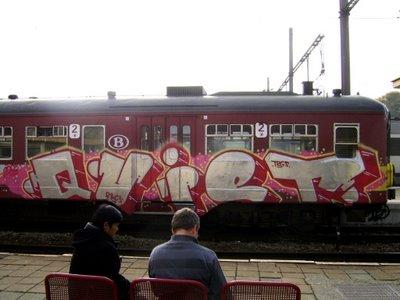 Quiet Graffiti Train