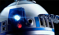 R2D2 Digital Projector