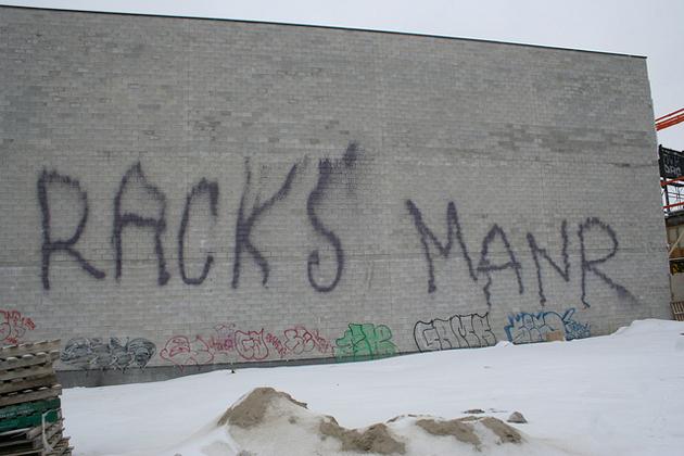 racks manr graffiti fire extinguisher tags